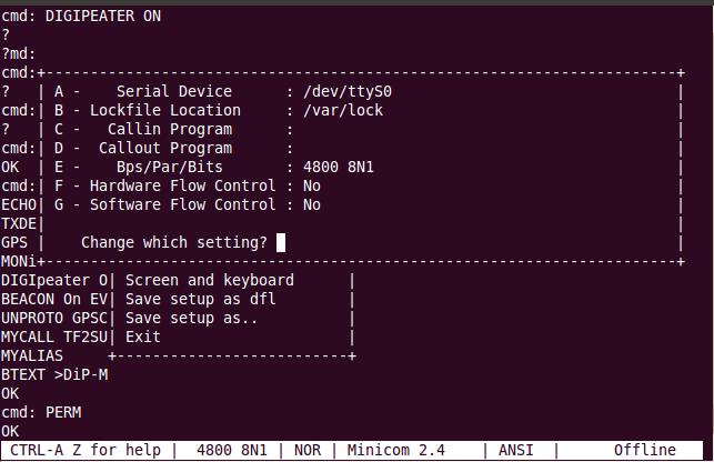 Minicom Linux - фото 2